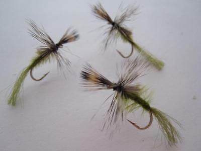 SIZES AVAILABLE 1 DZ D17-1 BLACK QUILL DRY FLIES