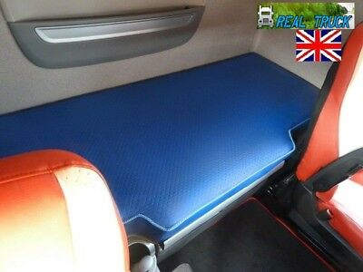 Fit Daf Xf 106 Truck  Bed Cover -Blue Eco Leather