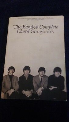 Hal Leonard The Beatles Complete Guitar Chord Songbook idea