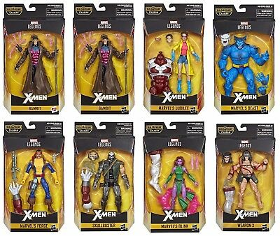 Marvel Legends Caliban Wave Set Of 7 Guaranteed Pre Order,gambit Jubilee Forge