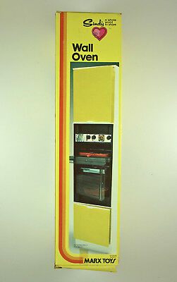 Sindy Wall Oven - Kitchen - Marx -  1978 - Mint-In-Box, Unassembled And Unused