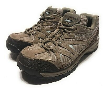 NEW BALANCE 606 Hiking Trail Running Shoes Brown Suede WW606BR Womens Size 8