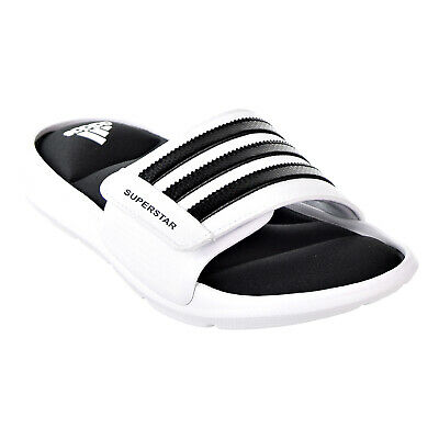 6b245b797da2f0 ADIDAS SUPERSTAR 5G Men s Slide Sandals White Black AC8702 -  37.99 ...