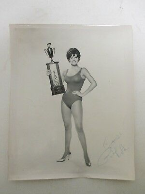 SIGNED Raquel Welch AUTOGRAPHED 8X10 Photo / Black & White 1965 Picture -Actress