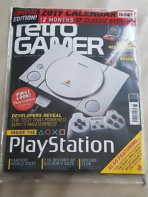 Retro Gamer Issue 188 New Sealed playstation