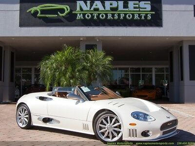 2009 Other Makes All Models  2010 Spyker C8 Spyder 6 Speed Manual - EXTREMELY RARE!