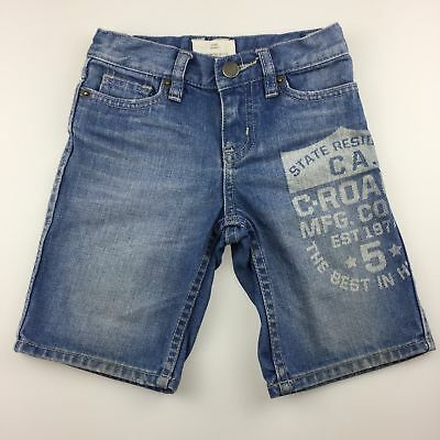Boys size 3, Country Road, blue jean shorts, adjustable waist, FUC