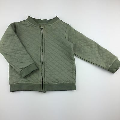 Girls,Boys size 2, Sprout, quilted cotton lightweight jacket / coat, GUC