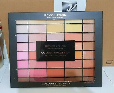 **Gift** Makeup Revolution London 40 Shades Colour Spectrum Face Palette X1 Box