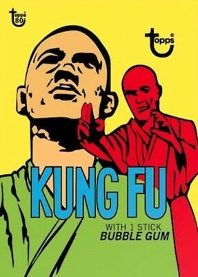 2018 Topps Wrapper Art Card #22 Kung Fu Bubble Gum 1973 Card 80th Anniversary PS