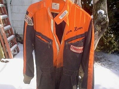 Vintage Hinchman Nomex Indy Kendall Racing Jumpsuit Coveralls Suit