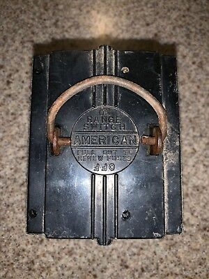 American Fuse Pull Out Block Range switch. 60 Amp 240 Volt