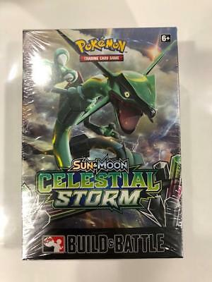 Pokemon TCG Sun & Moon Celestial Storm Sealed Prerelease Kit in Storage Box