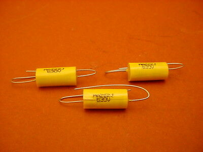 20 x 0.0022 uF / 630 Volt Polyester Axial CAPACITOR    New Stock   5% Tolerance