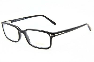 0b7b583c5eff Brand New Tom Ford Tf 5209 001 Black Eyeglasses Authentic Frame Rx Tf5209  53-17