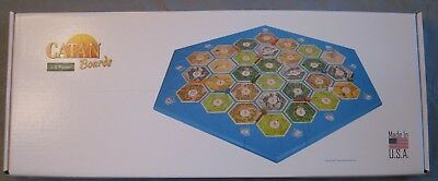 Official Settlers Catan Board NEW sealed; surface plastic modular 3-4 or 5-6