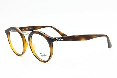 b4534753b91 New Ray-Ban Rb 7110 5200 Havana Authentic Eyeglasses Rx Rb7110 5200 49-20