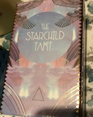 THE STARCHILD TAROT Akashic Deck LARGE - Excellent Condition