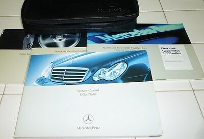 mercedes c230 owners manual