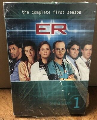 ER - The Complete First Season (DVD) BRAND NEW SEALED