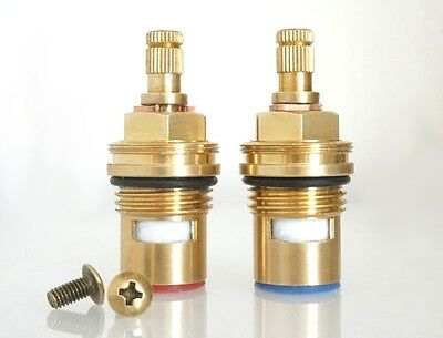 Replacement brass ceramic disc tap valve cartridge quarter turn FITS BLANCO taps