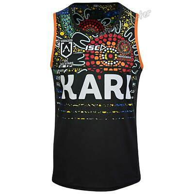 Indigenous All Stars 2019 Mens Training Singlet S-5XL BNWT