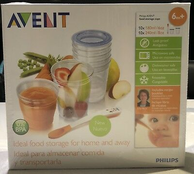 Avent Food Storage Containers