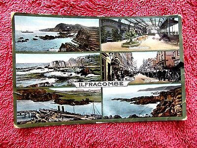 Six Views  Of  Ilfracombe G.b. Colour  Postcard  [480]