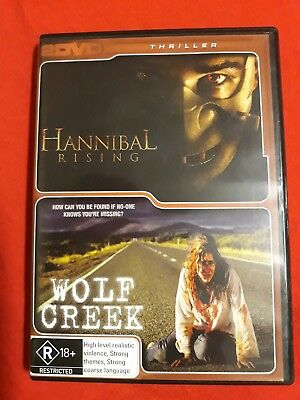 Hannibal Rising And Wolf Creek Dvd