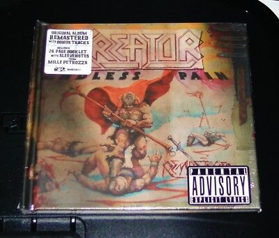 Kreator Endless Pain Remastered CD Schneller Shipping New & Original Packaging