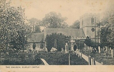 CPA - Royaume-Uni - Angleterre - Worcestershire - Elmley Castle - The Church