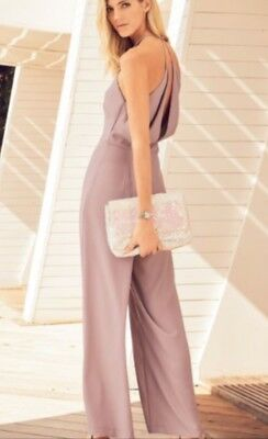 496cedcbfb BNWT🌹LIPSY   NEXT🌹SIZE 14 Sexy Pink Cold Shoulder Ruffle Tapered ...