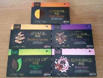 4 boxes of Slimming World hi-fi bars. Any of the available flavours