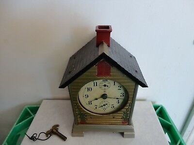 Antique Junghans German mantle clock, working