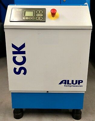 ALUP SCK15-08 Rotary Screw Compressor! 60Cfm! 11.0Kw! 8 Bar! Great Condition