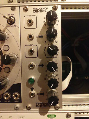Frequency Central Trans Europa / Transposing/  Modular Eurorack Module