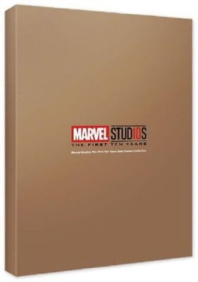 MCU Studios 10th Years Anniversary Gold Posters Collection Marvel Posters_RC