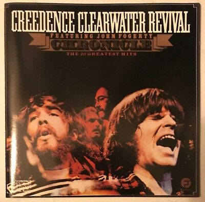 Creedence Clearwater Revival Chronicle Cd Greatest Hits Fantasy Usa Pressing