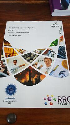 RRC Training NEBOSH National Diploma 2012 Unit A Managing Health & Safety A6-A10