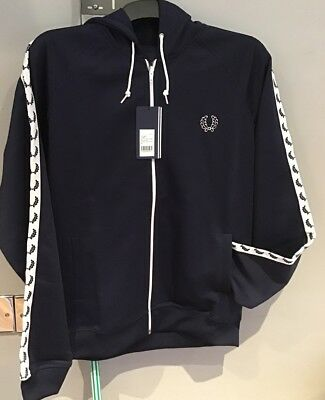 Fred Perry Mens Panelled Track Jacket J4526