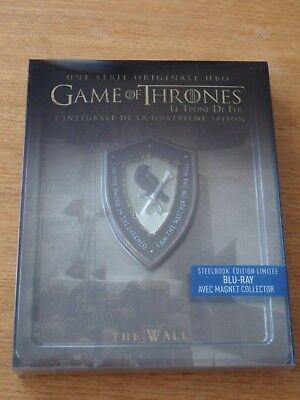 Game Of Thrones - Saison 4 - Edition Speciale Steelbook + Magnet