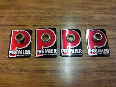 1 x vintage Premier drum badge. 4 available @ auction start.