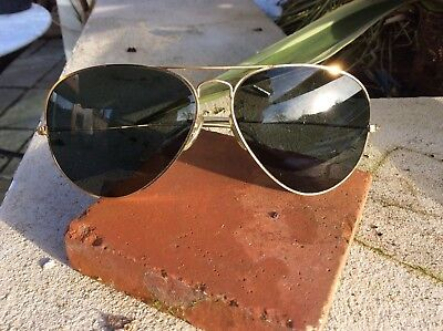 VINTAGE RAY BAN Sunglasses. Made In France, Quality Bausch   Lomb ... af0760677bec