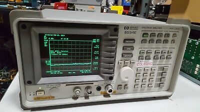 HP Agilent 8594E 2.9 Ghz Spectrum Analyzer