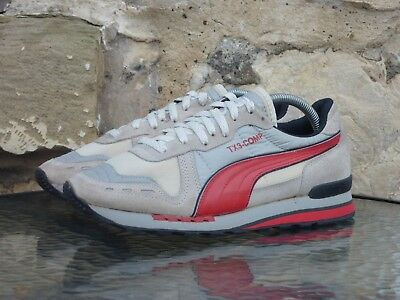 Vintage PUMA TX3-Comp UK 7.5 OG 80s Made In Taiwan cyclone denver competition