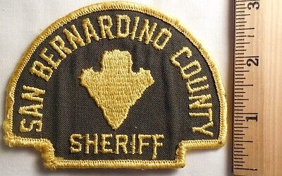 San Bernardino County California Sheriff Patch (Highway Patrol, Sheriff, Ems)