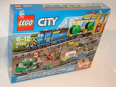 LEGO® City 60052 Güterzug NEU OVP 2teWahl Karton_ Cargo Train NEW 2ndChoice box