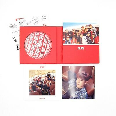 [THE BOYZ]1st Single Album/The Sphere/Real version-Eric Image/No photocard
