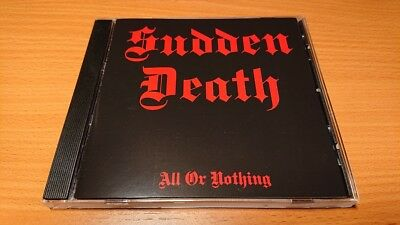 Sudden Death - All Or Nothing(1987)CD