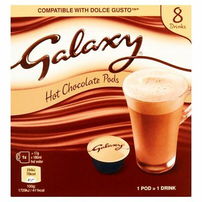 Galaxy Dolce Gusto Compatible Pods 8 Drinks